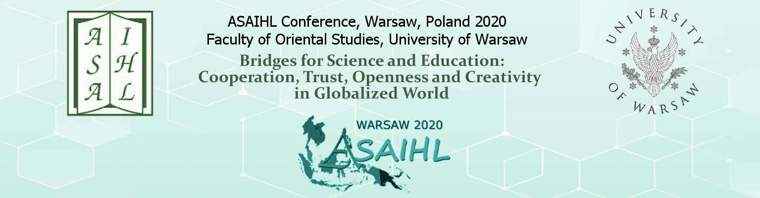 ASAIHL Conference 2020, Warsaw, Poland