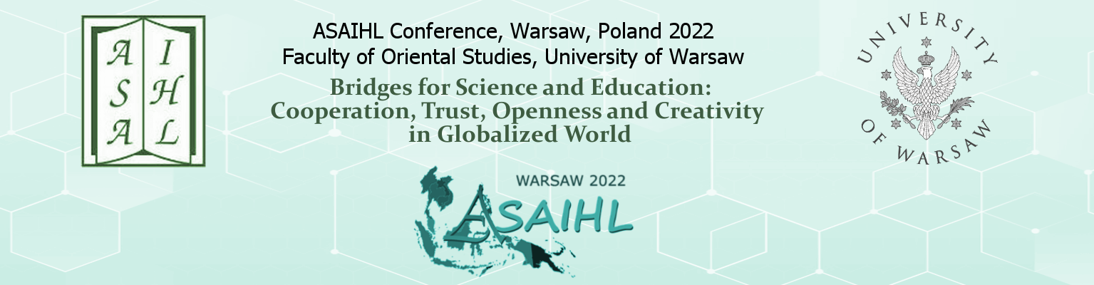 ASAIHL Conference 2022, Warsaw, Poland